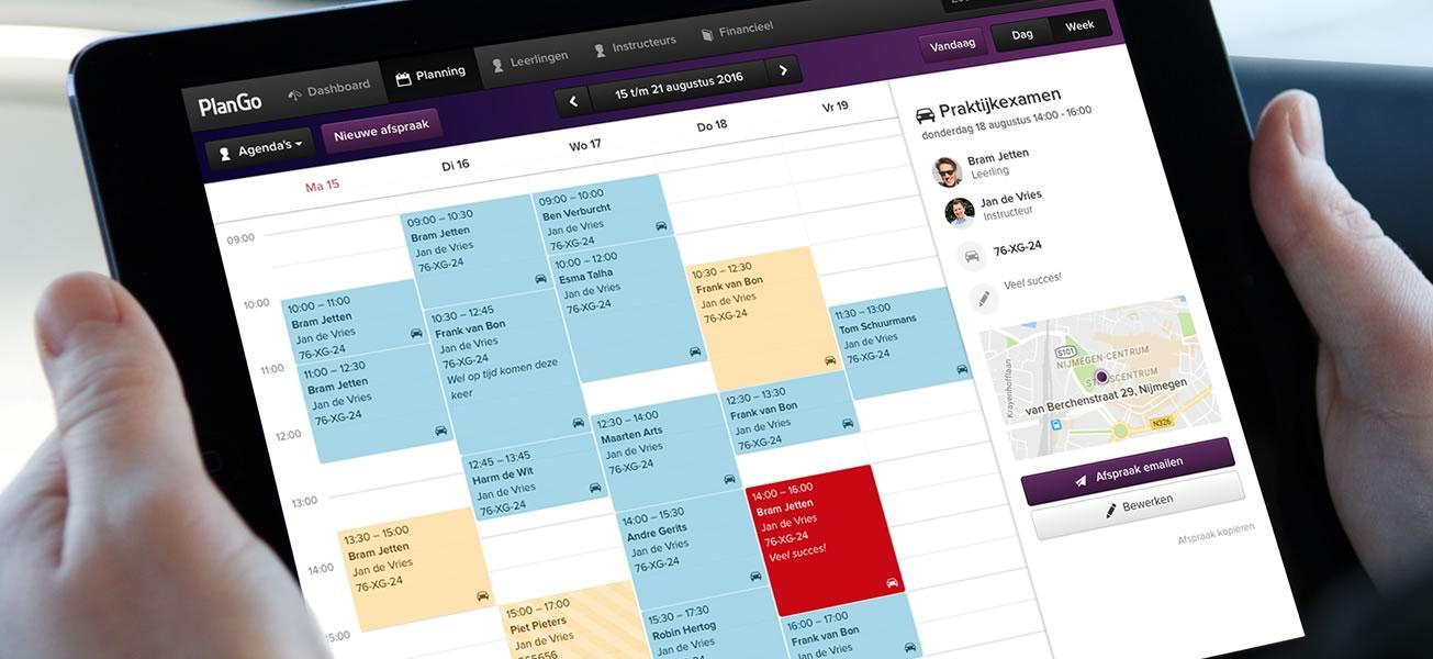Image plango rijschoolsoftware